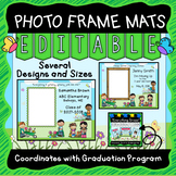 Preschool and Kindergarten Graduation Photo Frames - Editable