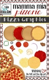 Custom Pizza  Graphics / Clipart Collection