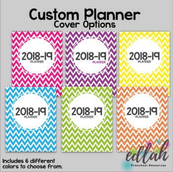 Custom Planner Covers