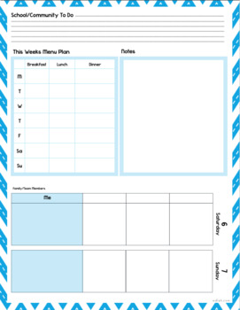 custom planner weekly planner sheets 2018 by melissa schaper tpt
