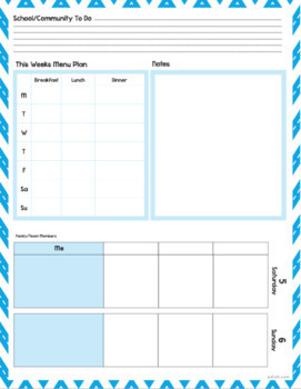 picture regarding Weekly Planning Sheets named Tailor made Planner Weekly Planner Sheets 2019