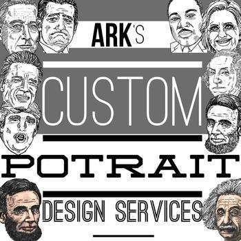 Custom Portrait Clipart Service