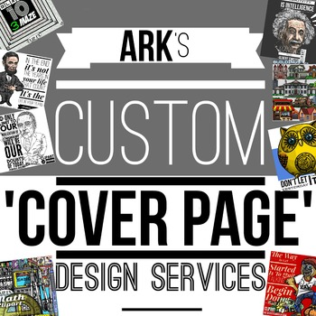 Custom Product Cover Page Service