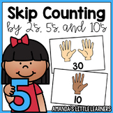 Skip Counting Posters - By 2's, 5's, and 10's