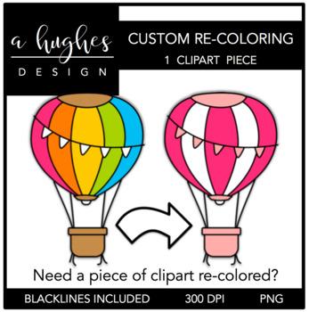 Custom Clipart Recoloring {A Hughes Design}