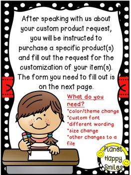 Custom Request ~ $4