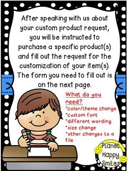 Custom Request ~ $5