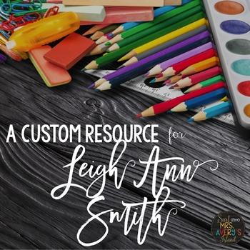 Custom Request:  Editable America Themed Bundle for Leigh Ann Smith