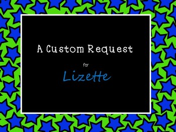 Custom Request for Lizette