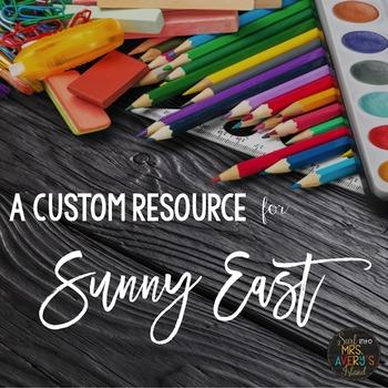 Custom Resource:  Editable Round Chevron Tags for Sunny East