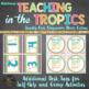 Mnemonic Math Anchor Charts in Beach Theme