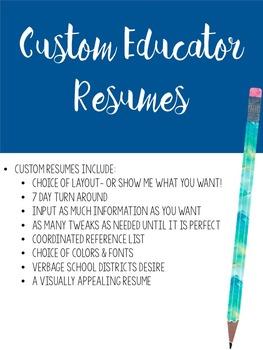 Custom Resumes