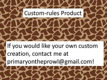 Custom Rules- MKH