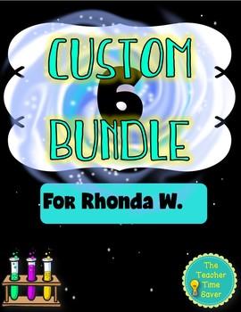 Custom Science Bundle- Rhonda W.