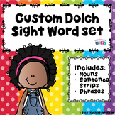 Custom Sentence Strips, Phrases and Noun Flash Cards