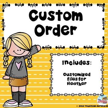 Custom Sight Word set