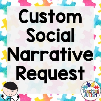 Custom Social Story Personalized For You
