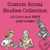 Custom Social Studies Clip Art Collection