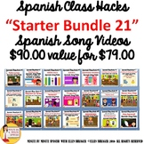 252 Custom Spanish Transition Videos Bundle - Customized w