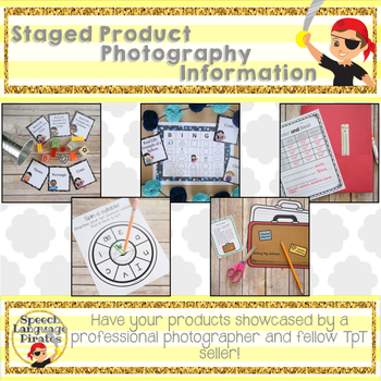Custom Staged Product Photography Service Information - FREE