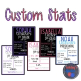 Custom Stats Pages