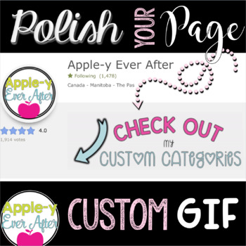 Custom Gif for your TpT Store
