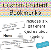 Custom Student Bookmarks