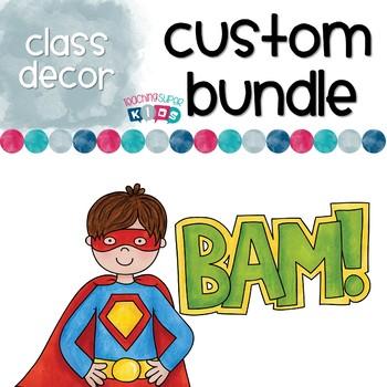 Custom Superhero Bundle