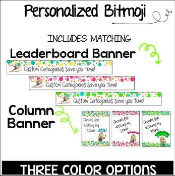 Custom TPT Animated Quote Box Banner - BITMOJI