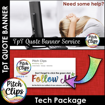 Custom TPT Quote GIF Banner - Tech Package ONLY