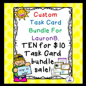 Custom Task Card Bundle for LauronB.
