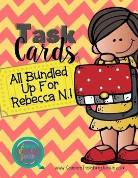 Custom Task Card Bundle for Rebecca N.