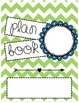 Custom Teacher Binders- Blue and Green Theme