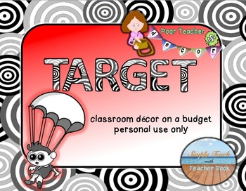 Custom Theme Decor Set  TARGET