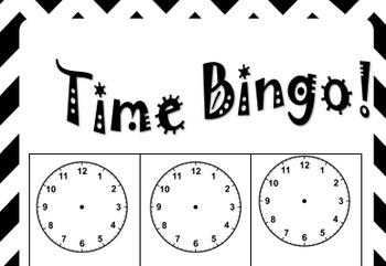 Custom Time Bingo