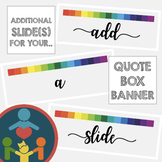 Custom TpT Shop : Quote Box Banner Additional Slide(s)