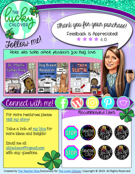 Custom TpT Thank You Page Template for Sellers