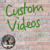Custom Video Animation for TPT Sellers