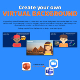 Custom Virtual Backgrounds in Zoom or Teams using PowerPoint
