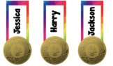 Custom bookmarks, awards, label - Commonwealth Games 2018