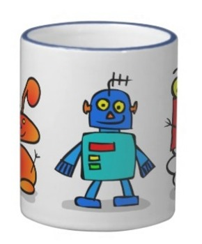 Custom mugs for students and teachers. Select from my clip art collection