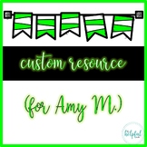 Custom resource for Amy M.