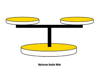 Customary Capacity Balance Scale Game