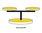 Customary Capacity Balance Scale Game