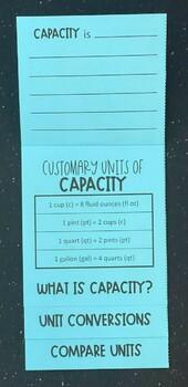 Customary Capacity (Foldable)