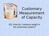 Customary Capacity Powerpoint
