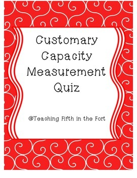 Customary Capacity Review Assessment Common Core Aligned