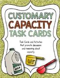 Customary Capacity Task Card Activity
