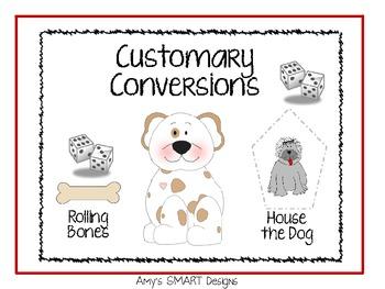 Customary Conversion Measurement Games