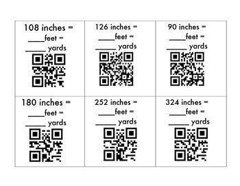 Customary Length QR Codes